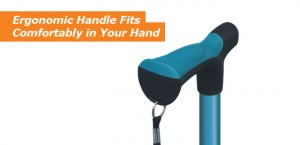 Ergonomic Handle Fits Comfortably in Your Hand