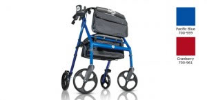 Hugo Elite Rolling Walker with Seat