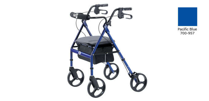 Hugo Rolling Walker with Seat