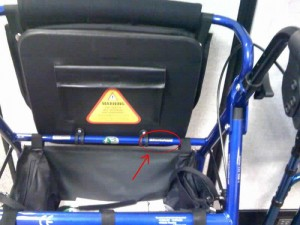 Hugo Rolling Walker serial number location