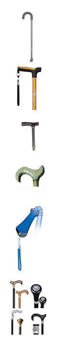 Cane handles
