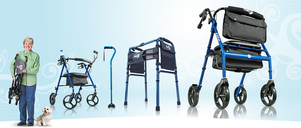 Hugo Elite Amazon's Best Selling Rolling Walker