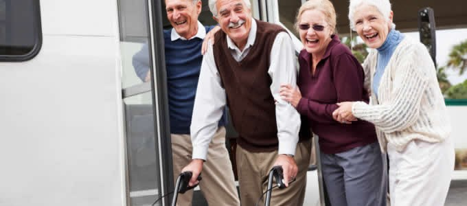 Arthritis Pain? Rolling Walker Helps Enjoy Life to the Fullest