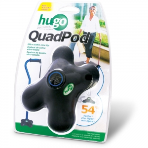 Hugo QuadPod Cane Tip, Retail Box