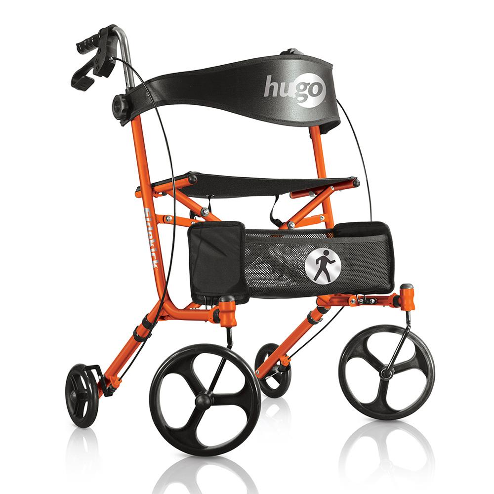 Hugo Sidekick Side-Folding Rolling Walker with a Seat – Hugo Mobility