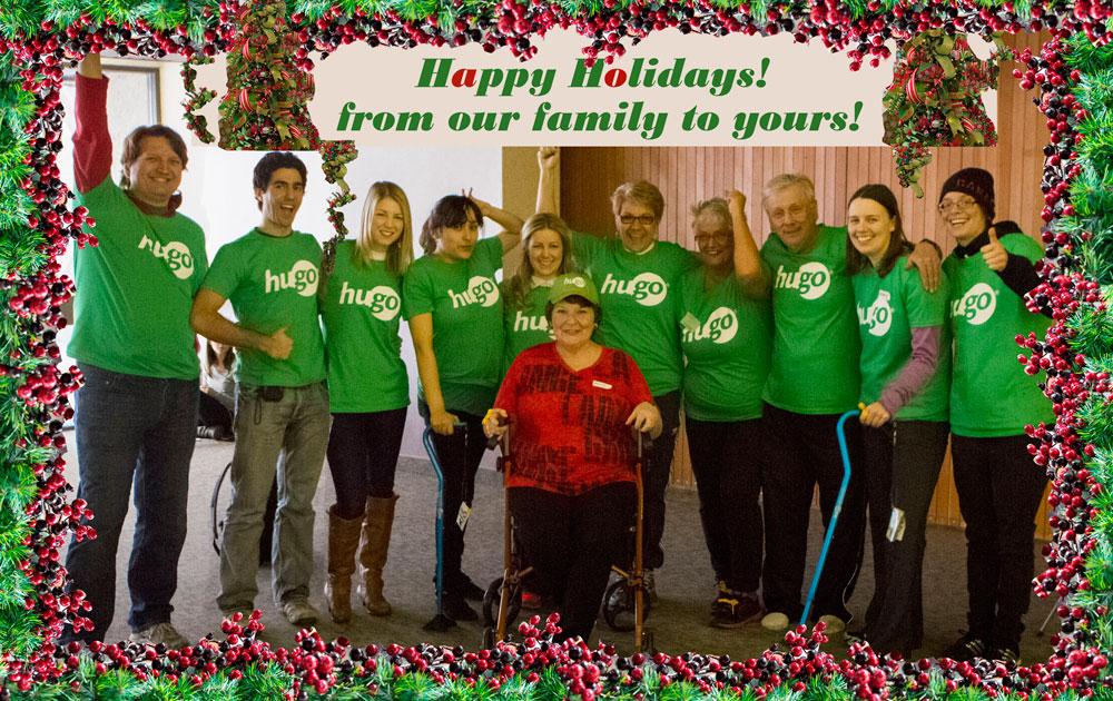 Happy Holiday from the Hugo Family!