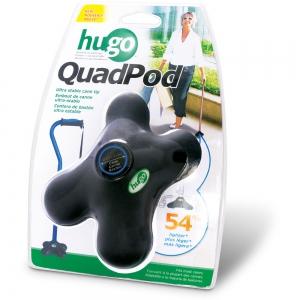 Hugo QuadPod Cane Tip, Retail Box