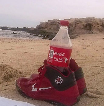 Vern`s old, old, old beach shoes