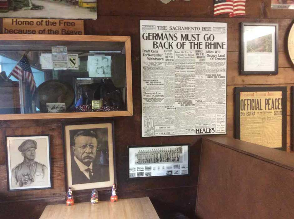 memorabilia from the 1950s and 1960s