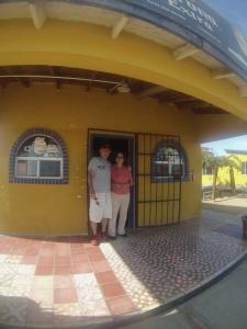 Vern with La Espinita's owner Lupita