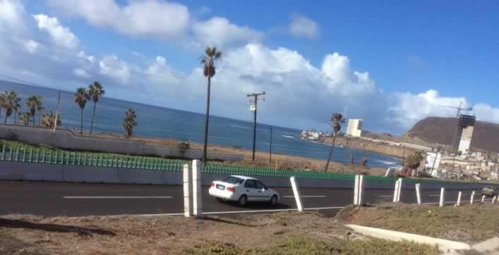Coastline from Tijuana to Ensenada, Baja Mexico